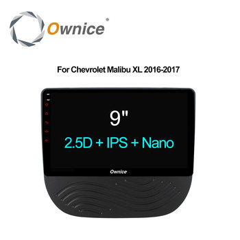 Ownice C500 + Octa çekirdek Android 6.0 32G ROM 2G RAM Araba DVD video Player Için CHEVROLET Malibu XL 2016 2017 Destek 4G LTE DAB + DVR